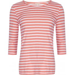 Mudd & Water Sure Thing Top - Peach Stripe