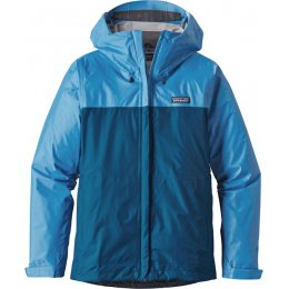 Patagonia Womens Torrentshell Jacket - Blue Panel
