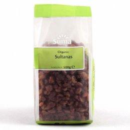 Suma Prepacks Organic Sultanas - 500g
