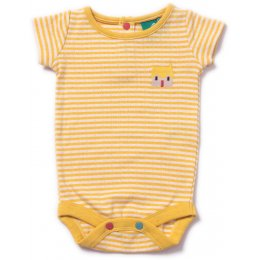 Corn Silk Pointelle Baby Body