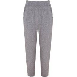 Asquith Bamboo Straight To It Pants - Pale Grey Marl