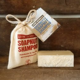 Living Naturally Coconutty Soapnut Shampoo Bar - 90g