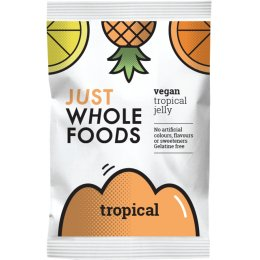 Just Wholefoods Jelly Crystals - Tropical Fruits - 85g
