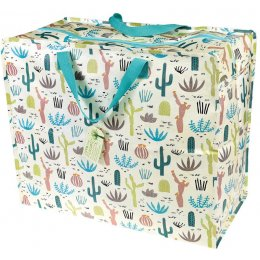 Recycled Jumbo Storage Bag - Desert In Bloom