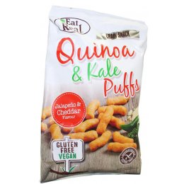 Eat Real Quinoa Kale Puffs - Jalapeno & Cheddar 113g