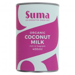 Suma Organic Coconut Milk - 400ml