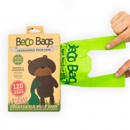 Beco Poo Bags with Handles - 120