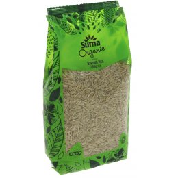 Suma Prepacks Organic Brown Basmati Rice - 750g