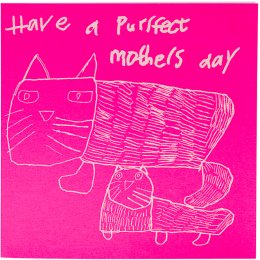 Arthouse Meath Charity Have a Purrfect Mothers Day Card