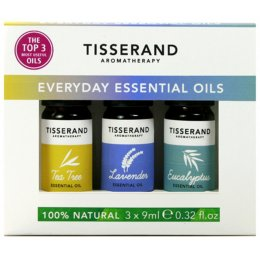 Tisserand Everyday Essential Oils Kit - 3x9ml
