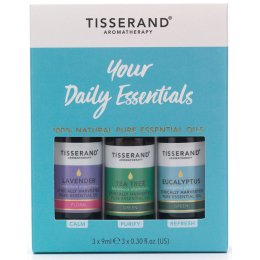 Tisserand Your Daily Essentials Kit - 3x9ml
