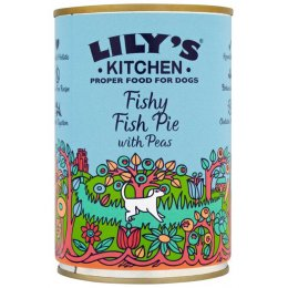 Lilys Kitchen Fishy Fish Pie With Peas Wet Dog Food - 400g