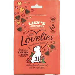 Lilys Kitchen Little Lovelies Chicken & Shrimp Cat Treats - 60g