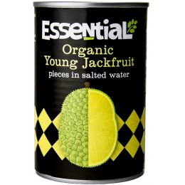 Essential Trading Organic Young Jackfruit Pieces in Salted Water - 400g