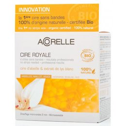 Acorelle Beeswax - Underarms, Bikini Line & Face - Royal Wax - 100g