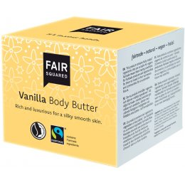 Fair Squared Body Butter - Vanilla - 150ml