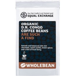 Equal Exchange Organic D R Congo Coffee Beans - 227g