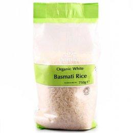 Suma Prepacks Organic White Basmati Rice - 750g