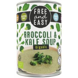 Free & Easy Organic Broccoli & Kale Soup - 400g