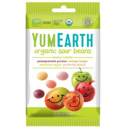YumEarth Vegan Sour Jelly Beans - 50g