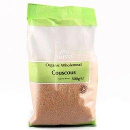 Suma Prepacks Organic Wholemeal Couscous - 500g