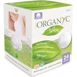Organyc 100 percent  Organic Cotton Breast Pads - Pack Of 24