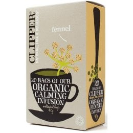 Clipper Organic Fennel Tea - 20 Bags