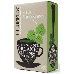 Clipper Organic Nettle & Peppermint Tea - 20 Bags