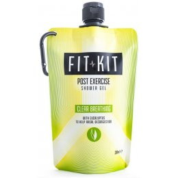 Fit Kit Clear Breathing Shower Gel - 200ml