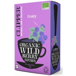 Clipper Organic Wild Berry Tea - 20 Bags