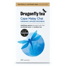 Dragonfly Cape Malay Organic Rooibos Chai - 20 Bags
