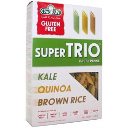 Orgran Super Trio Penne Pasta - Kale, Quinoa & Brown Rice - 250g