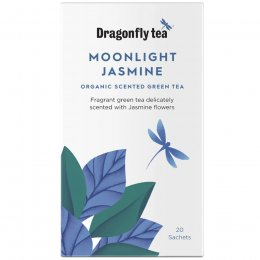 Dragonfly Organic Moonlight Jasmine Tea - 20 Bags
