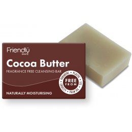 Friendly Soap Natural Cocoa Butter Facial Soap Bar - 95g