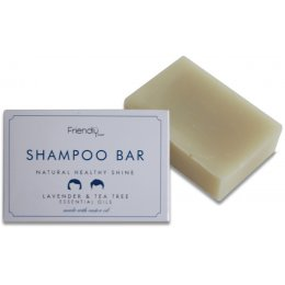 Friendly Soap Natural Shampoo Bar - Lavender & Tea Tree - 95g
