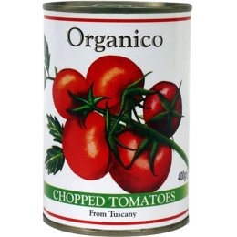 Organico Chopped Tomatoes - 400g