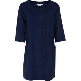 Nomads Needlecord Tunic Dress - Navy