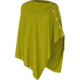 Nomads Knitted Poncho - Moss
