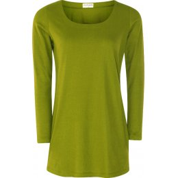 Nomads Organic Cotton Long Sleeve Top - Moss