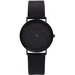 Votch Classic Collection Vegan Leather Watch - All Black