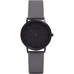 Votch New Collection Vegan Leather Watch - Black Face