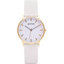 Votch New Collection Vegan Leather Watch - Gold