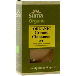 Suma Organic Ground Cinnamon - 30g