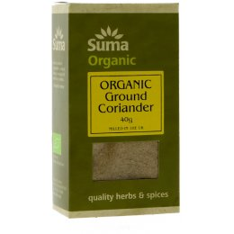 Suma Organic Ground Coriander - 40g