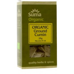 Suma Organic Ground Cumin - 25g