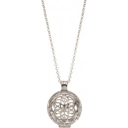 Inkana Silver Seed of Life Locket