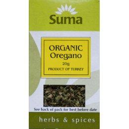Suma Organic Oregano - 20g
