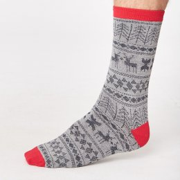 Thought Mens Noel Bamboo Socks