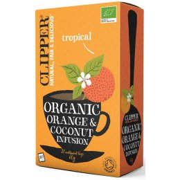 Clipper Organic Orange & Coconut Tea - 20 Bags