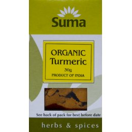 Suma Organic Ground Turmeric - 30g